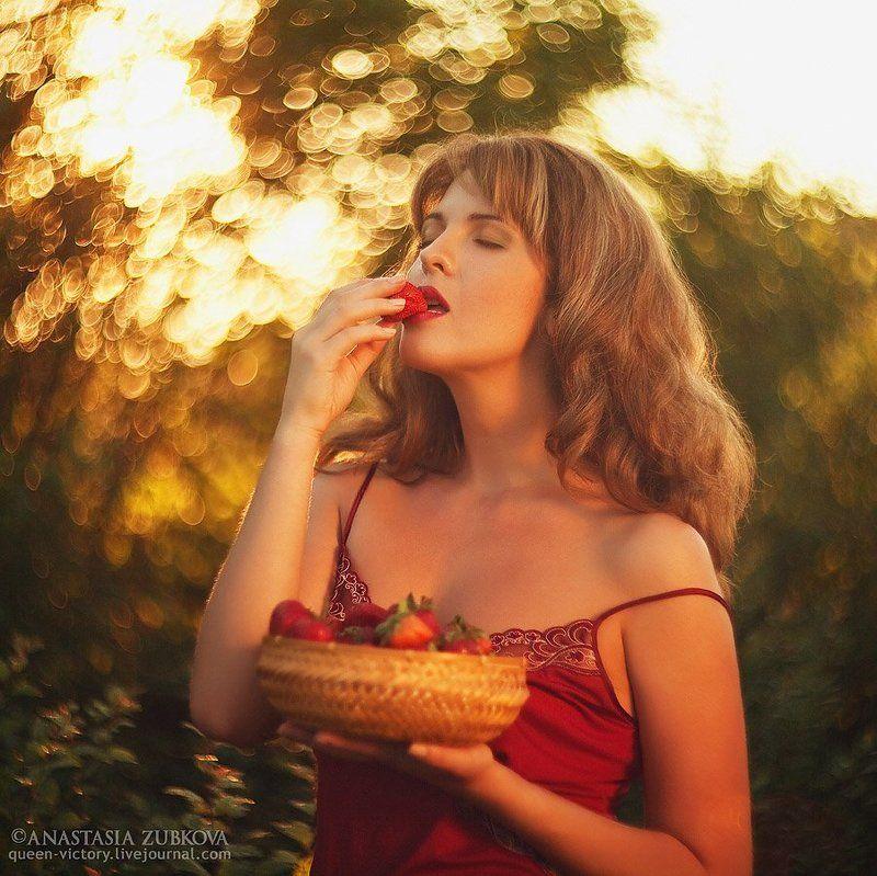 портерт, клубника Strawberry dreamsphoto preview