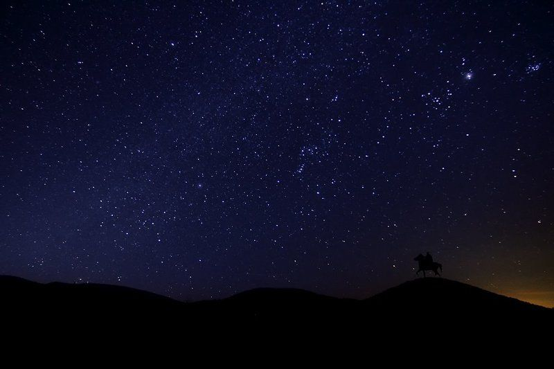 the sky at nightphoto preview