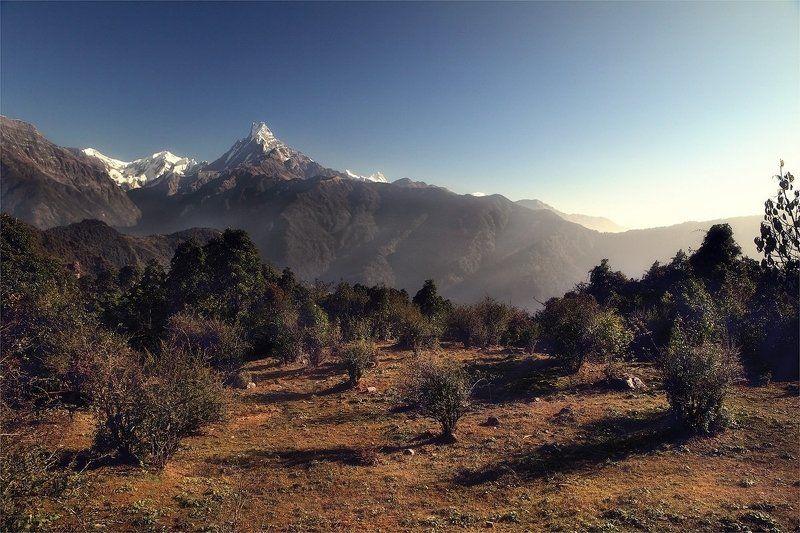 непал, гималаи, горы ***photo preview