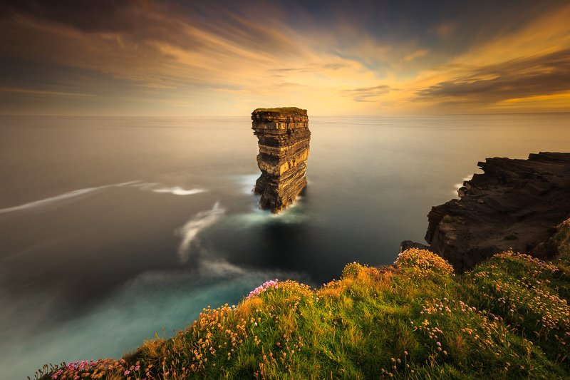 Ireland, long exposure, longexposure, landscapes, seascapes, sunrise, sunset Downpatrick Headphoto preview