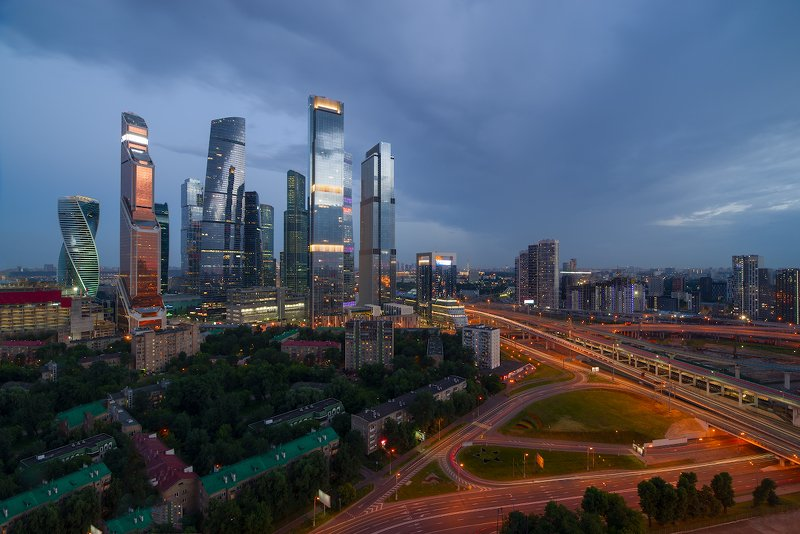 Moscow under the city.photo preview