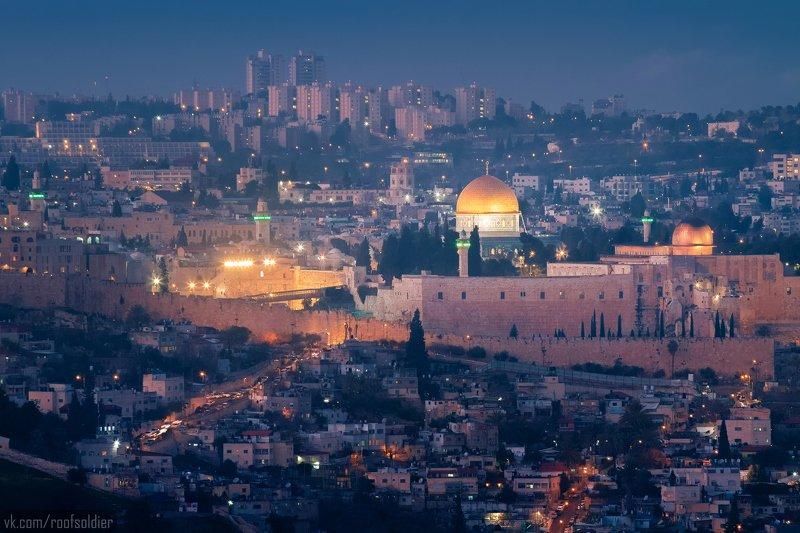 Израиль, Иерусалим, ночь, город, архитектура, мечеть, религия, Jerusalem, Palestine, Israel, arab, city, cityscape, architecture Арабская ночь в Иерусалимеphoto preview