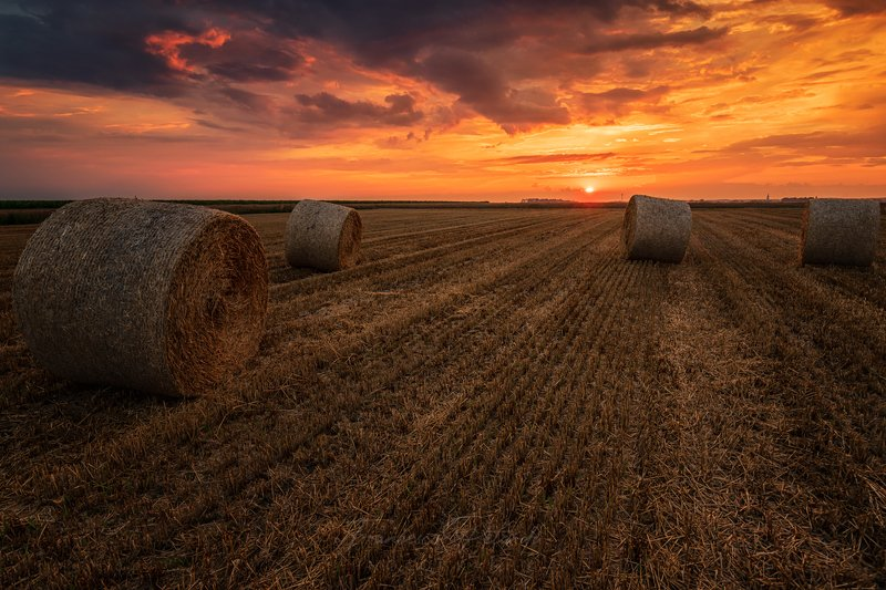 #sunset Sunset in the countrysidephoto preview
