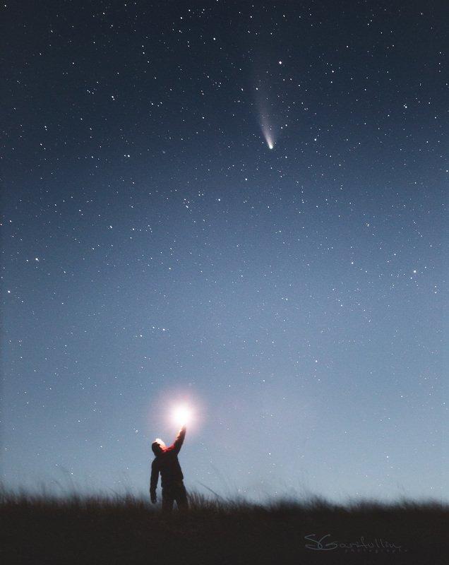 NEOWISE, комета Встреча с кометой C/2020 F3 (NEOWISE)photo preview