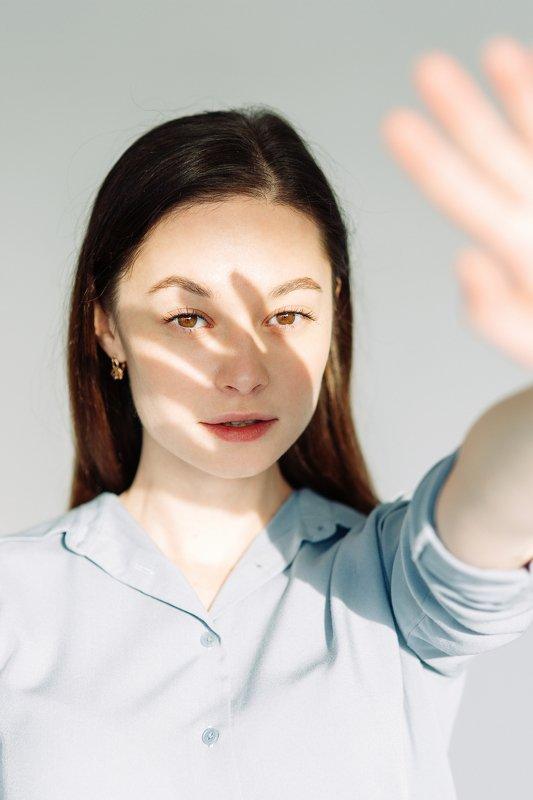portrait, studio, model, russian girl, sun Olyaphoto preview