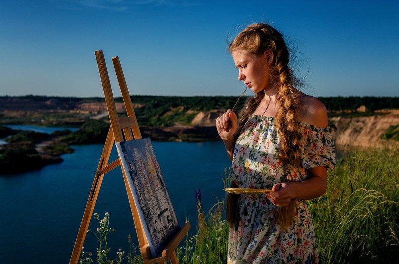 портрет, девушка, модель, 2020 Ираphoto preview