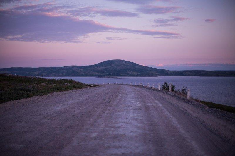 пейзаж, териберка, ночь, солнце, полярная ночь, лето Териберкаphoto preview