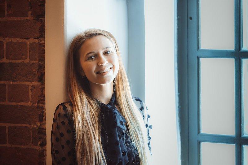 женский портрет Навстречу новому днюphoto preview