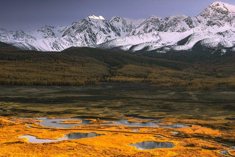 джангысколь,осень,горный алтай, курайская степь ,ёштыкель Урочище Ёштыкельphoto preview