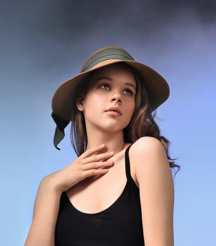 портрет, модель, студия, portrait, fashion, model, girl, beauty, beautifulgirl, studio, art, photoportrait Аняphoto preview