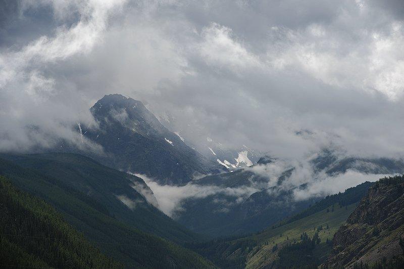 горы погода небо облака горныйалтай Распогодилось.photo preview