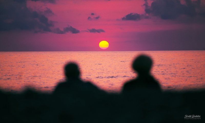 sea, black sea, landscape, people, couple, love, sun, sunset, sky, outdoor, photography Watching the end of the day with youphoto preview