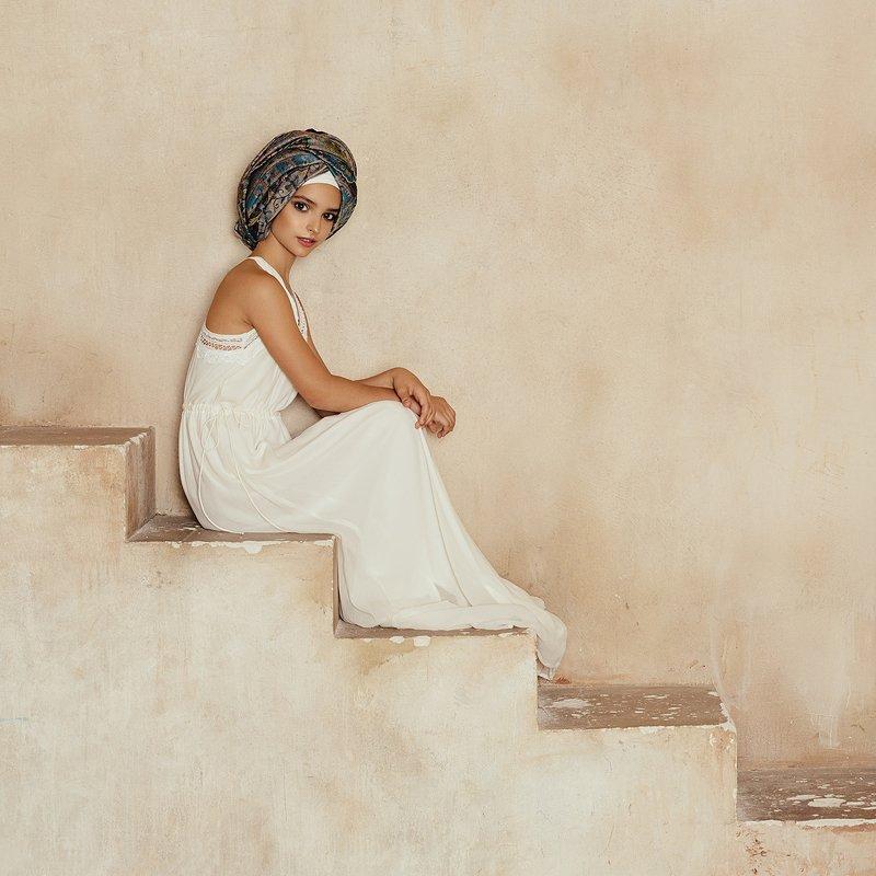 девушка, портрет, милая, cute, girl, portrait, тюрбан, чалма Leraphoto preview