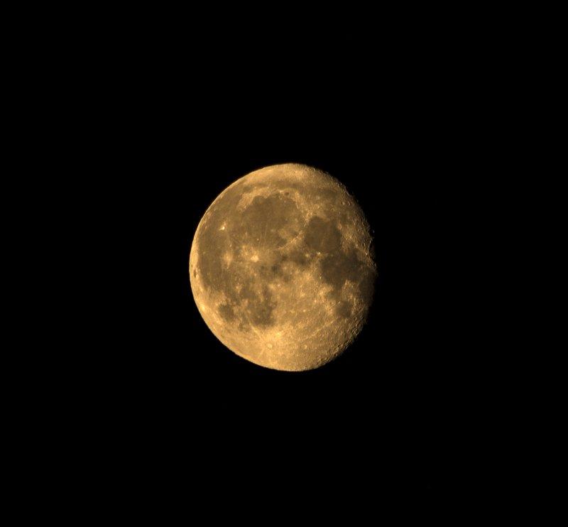 Луна в небе.photo preview