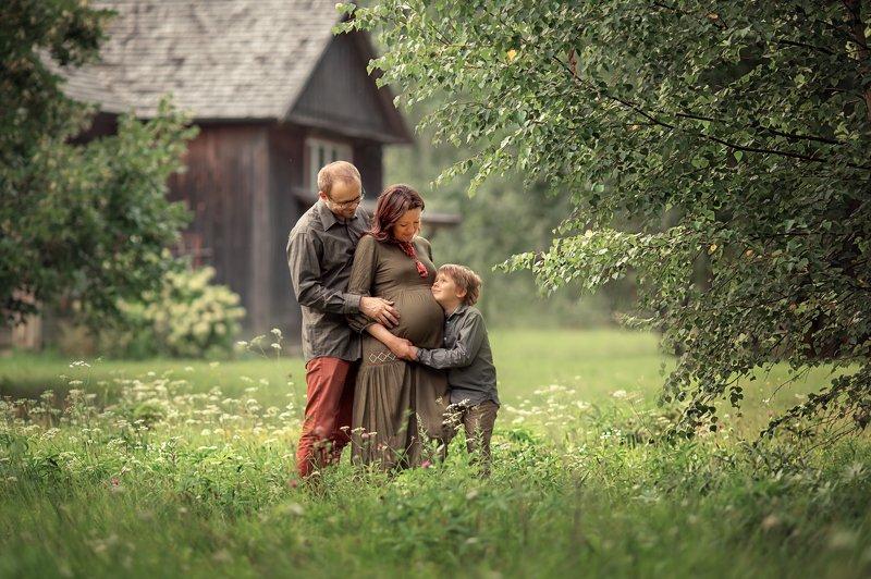 Беременность, любовь, семья, нежность, счастье, дети В ожиданииphoto preview
