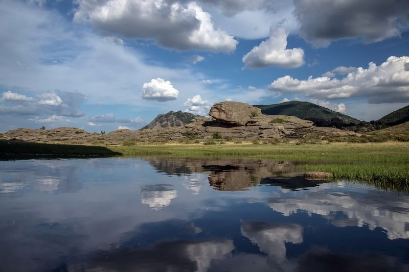 горы Отражениеphoto preview