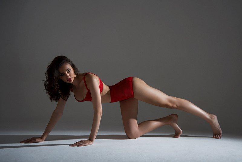 белье, красный, огонь, фотостудия Redphoto preview