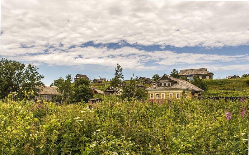 Вид на деревню Сюзьма.photo preview