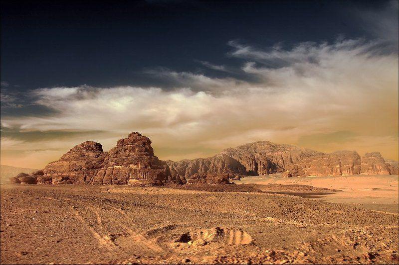 Марсианский пейзажphoto preview
