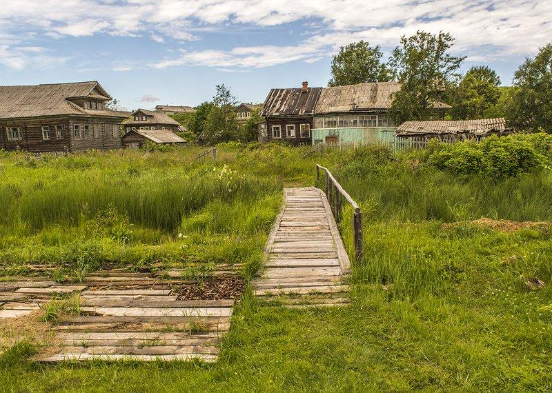 Деревня Сюзьма. Архангельская область.photo preview