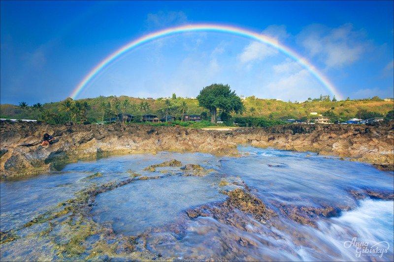 гавайи, оаху, остров, морской пейзаж, фототур, пшишылны, океан, радуга Кузница гавайских радуг.photo preview