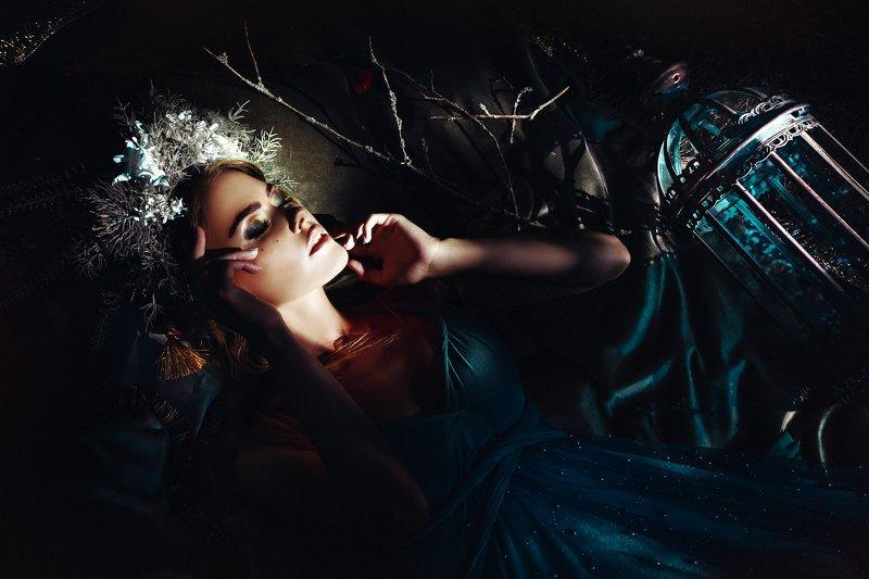 woman, beauty, portrait, art, outdoors, light The Forest Fairyphoto preview