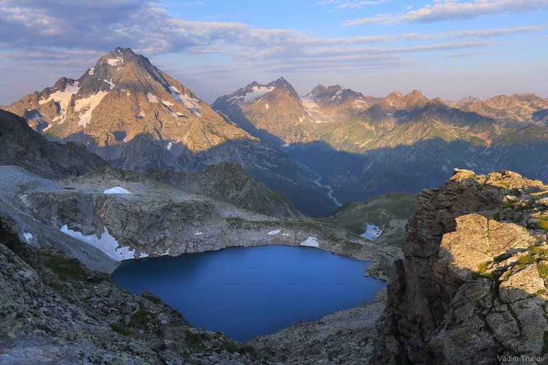 кавказ, кчр, озеро кратерное, пшиш, аманауз Озеро Кратерноеphoto preview