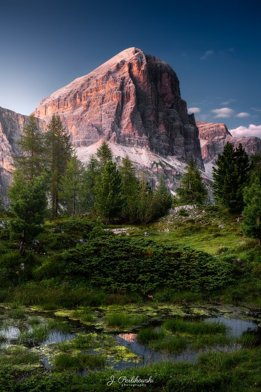 dolomites, dolomiti, mountains, itally, sunset, clours, contrast, summer, mountainscape Dolomitesphoto preview