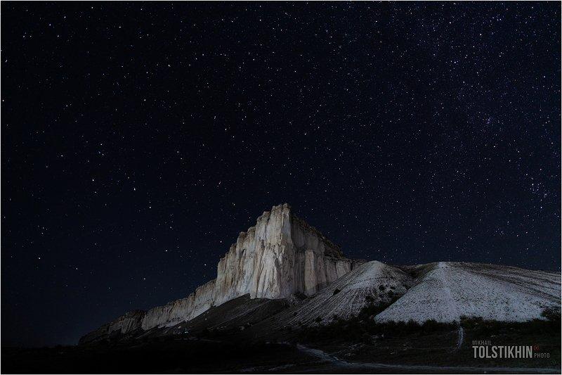 Белая скала.звезды...photo preview