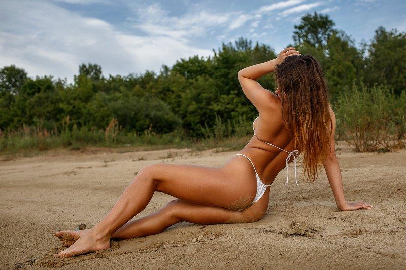 портрет девушка отдых пляж Анастасияphoto preview