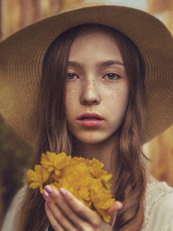 стилизация, картина, портрет, painterlyeffect, шум, взгляд, история В Миланеphoto preview