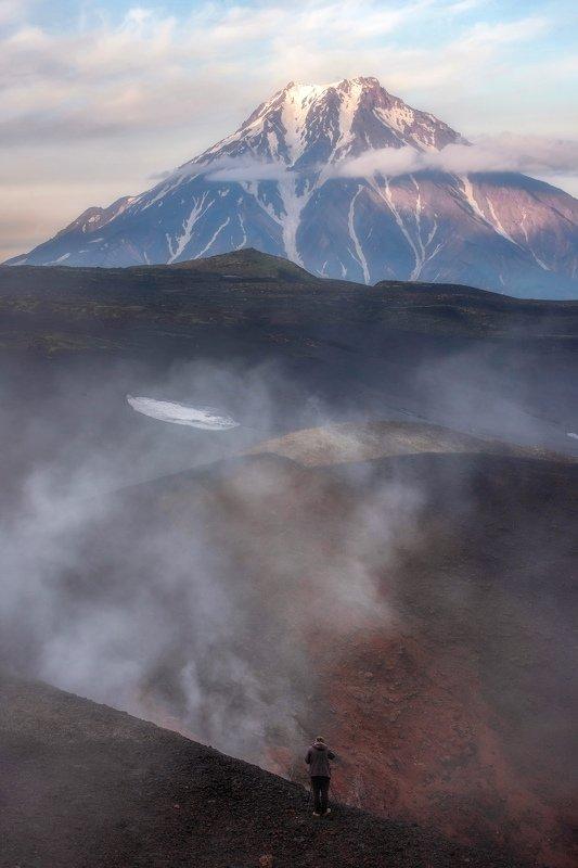 камчатка,вулкан,толбачик в стране вулкановphoto preview