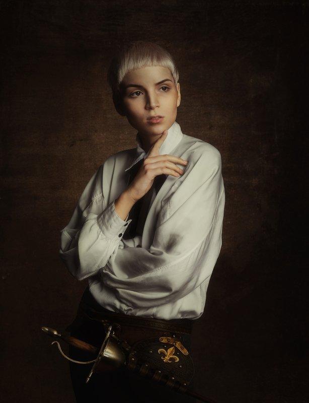 женский портрет,студийный портрет Амалияphoto preview