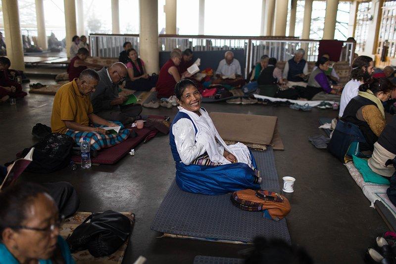 Пуджа за здоровье Далай Ламы. Индияphoto preview