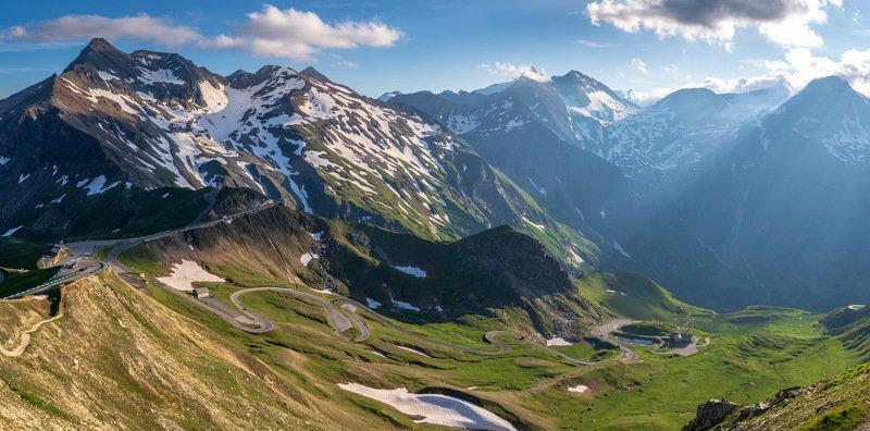 австрия, альпы, горы, перевал photo preview