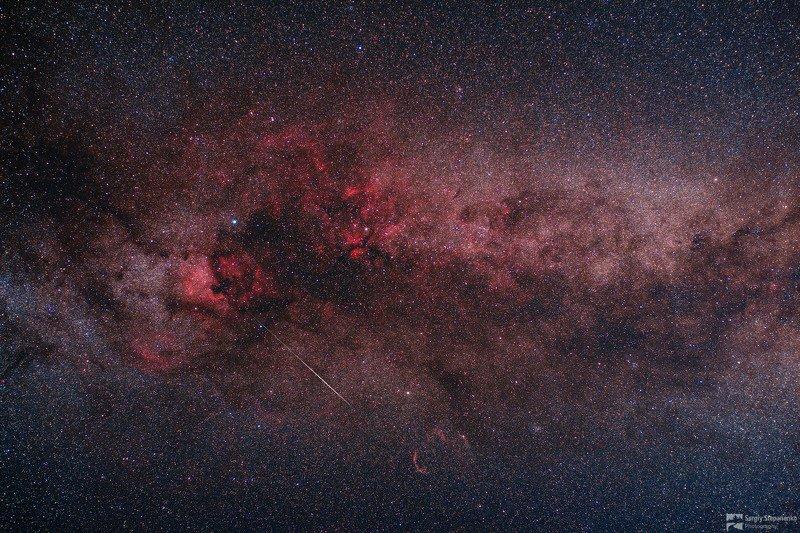 Млечный Путь в Лебеде и метеорphoto preview