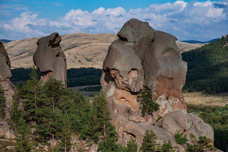 горы Скульптуры Каркаралинских гор.photo preview