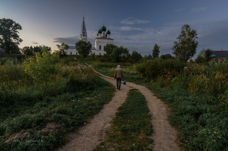 Августовский вечер в Осеневоphoto preview