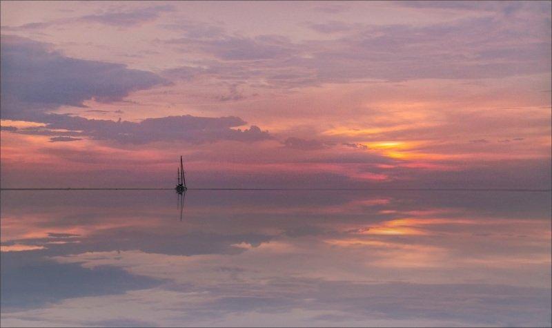 закат пейзаж красивые места фото в объятьях тишиныphoto preview