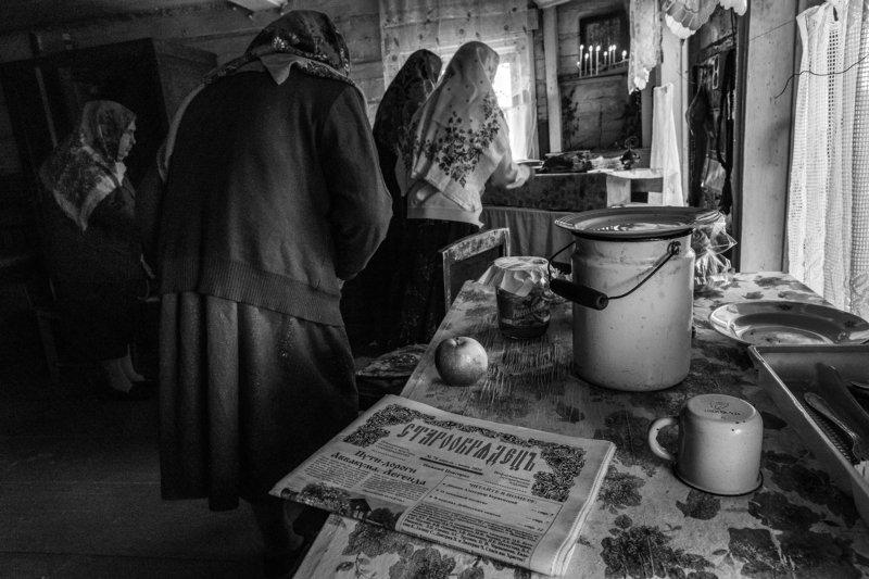 старовер, репортаж, черно белое Старообрядецъphoto preview