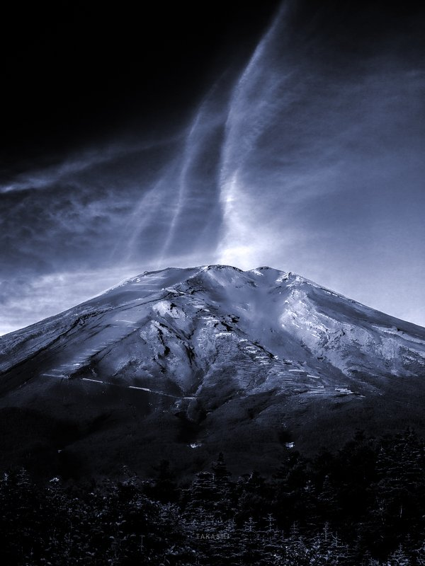 Fuji,Japan,mountain,clouds,morning, Breath of Mount Fujiphoto preview