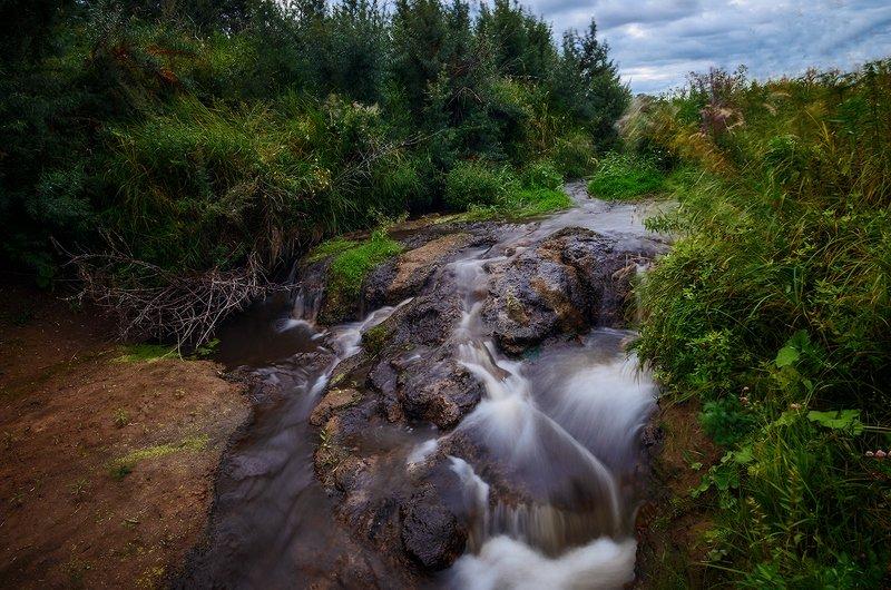 Лето, водопад Ручей...photo preview