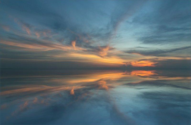 пейзаж закат красота краски природы Волшебные краски закатаphoto preview