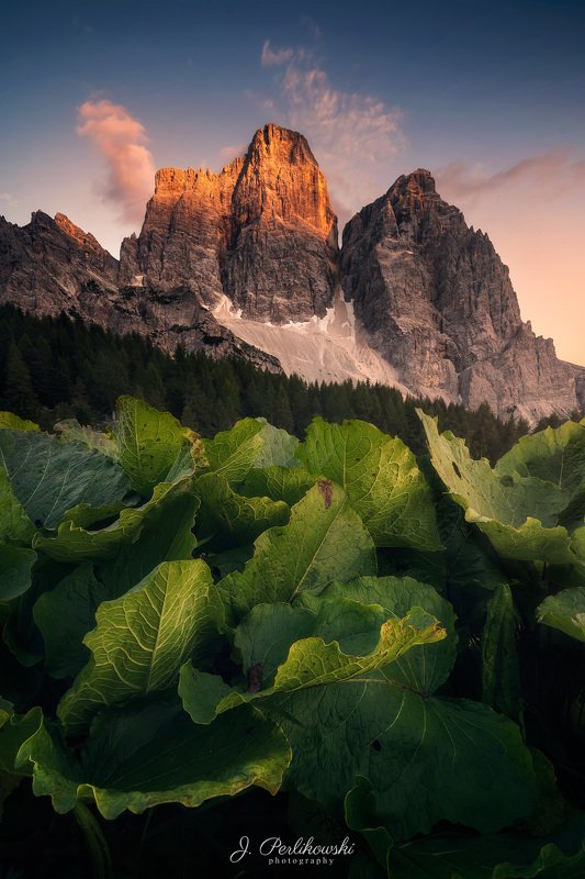 mountains, mountain, sunset, dolomites,dolomiti, colours,, landscape, mountainscape, Sunset in Dolomitesphoto preview