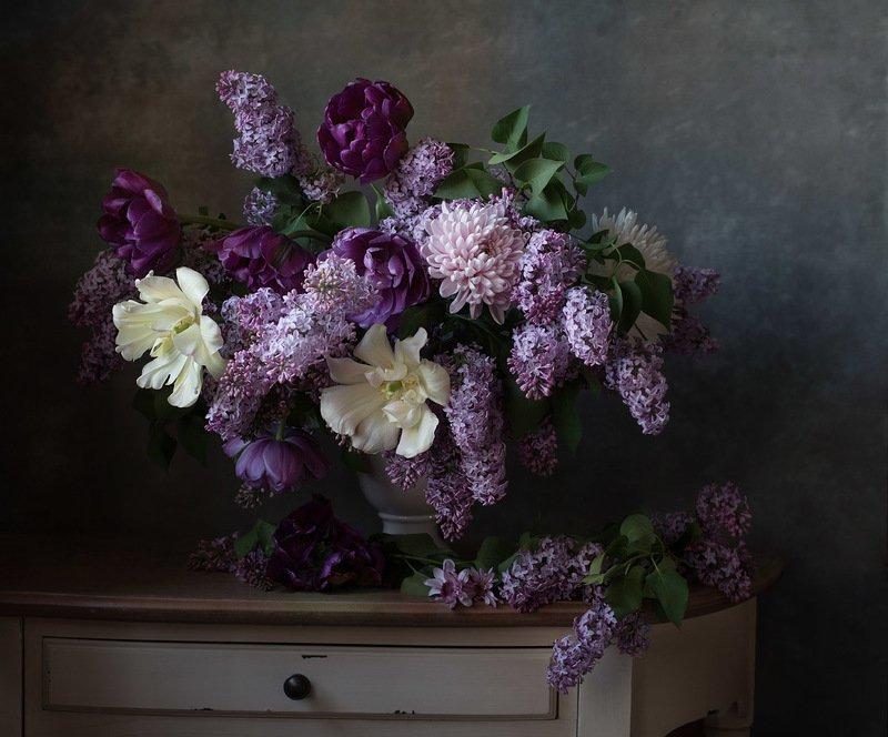 натюрморт, цветы, сирень, арт, алина ланкина, художественный натюрморт, натюрморт с цветами, весна, свет ***photo preview