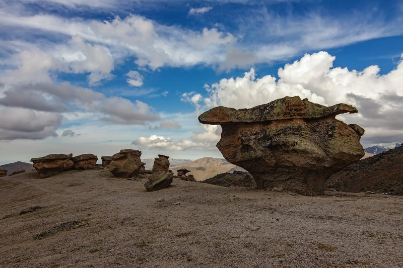 горы, альпинизм, кавказ, ледники каменные грибы...photo preview