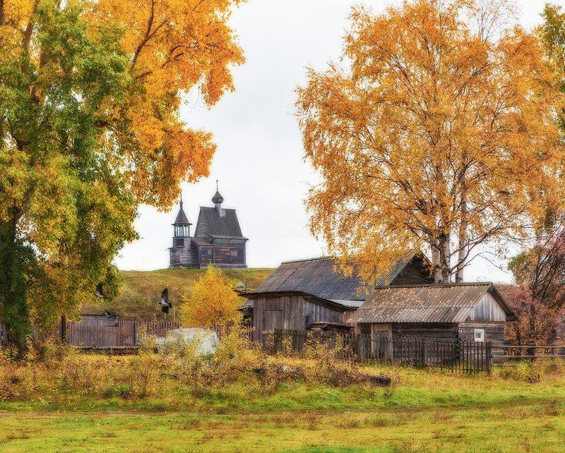 кенозеро, кенозерье, осень, часовня Осень в Кенозерье.photo preview