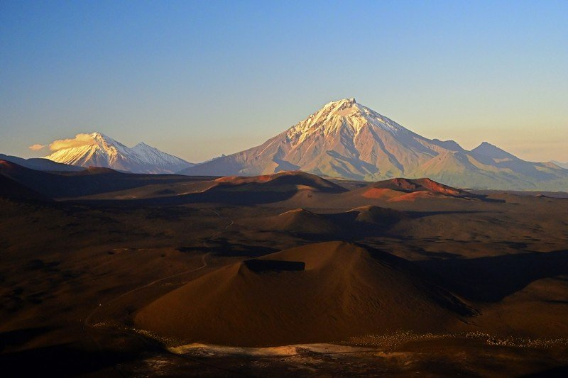 пейзаж, камчатка, толбачик, вулкан Толбачинский долphoto preview