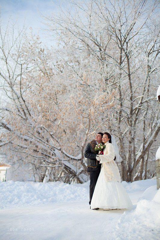 свадьба, зима, мороз, солнце, счастье, любовь, зимний букет, невеста, жених Мороз и солнце - день чудесный!photo preview