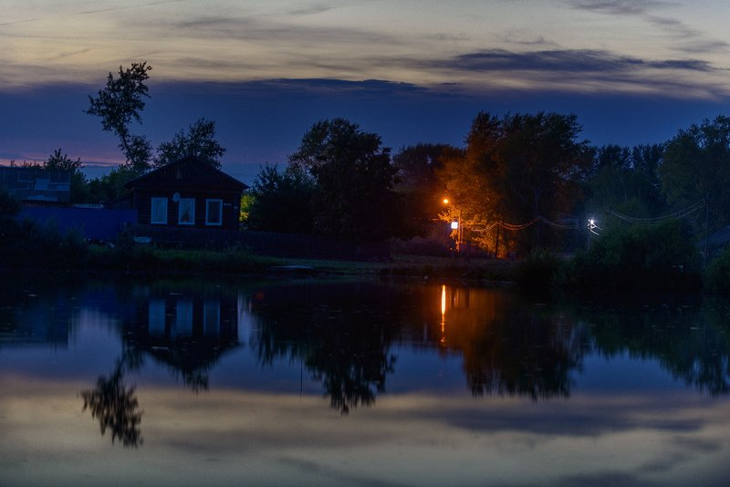 Лето, озеро, ночь Ночь...photo preview